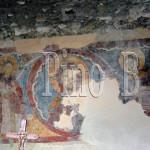 Colli di Monte Bove affresco del XIII sec. dietro l'altare