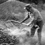 Vallepietra, rastrellamento del carbone, 1980