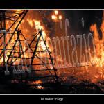 il grande incendio in piazza