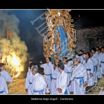 Canterano , Madonna degli Angeli, processione notturna
