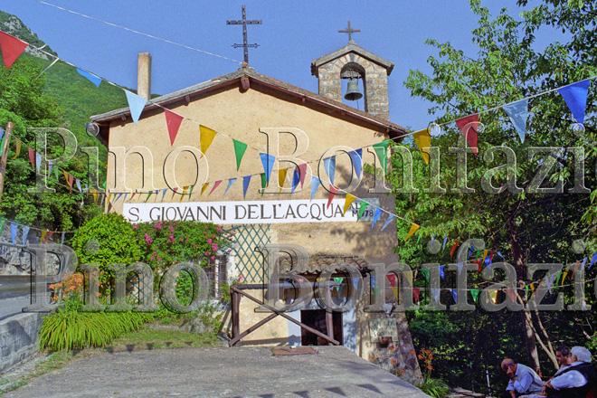 La chiesa di San Giovanni dell'Acqua