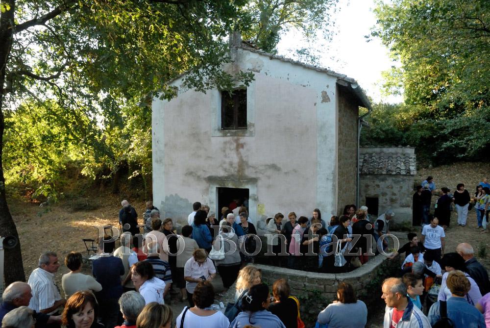 Chiesa di San Famiano a Lungo. Gallese (VT),17-7-2012.