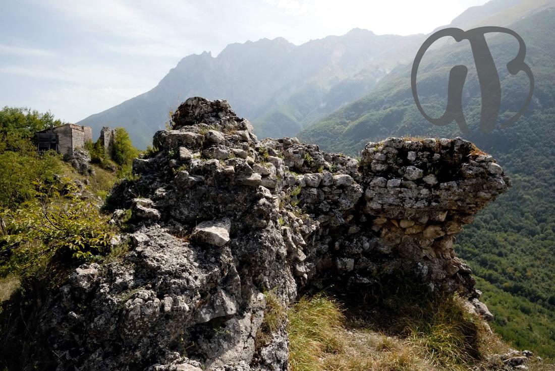 Ruderi del Castello di Pagliara, IX sec.