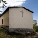Eremo di S. Colomba sulle pendici del monte Infornace a  1250 s.l.m.