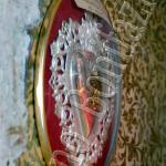 """Chiesa di S. Lucia.Ex Voto con la scritta""""Per grazia ricevuta Di Francesco...10.1985"""""""
