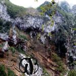 Cascate della Vena Rossa,      nel vallone della Fossaceca
