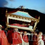 Pretara di Isola del Gran Sasso (TE), processione di Santa Colomba