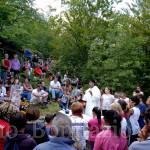 Celebrazione eucaristica all'eremo di S. Colomba
