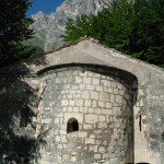 Abside dell'eremo di San Nicola di Corno