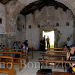 Interno dell'eremo di San Nicola
