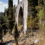 Subiaco, ruderi del monastero rupestre fondato da S. Chelidonia