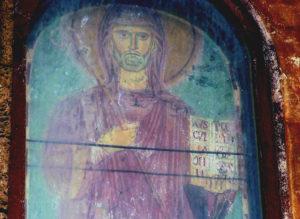 Subiaco, Sacro Speco-San Benedetto con il pastorale