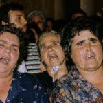 Guardia Sanframondi 1982  canti e invocazioni all'apertura della lastra