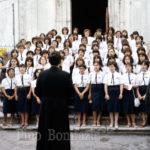 Guardia Sanframondi 1982, coro del  rione Croce