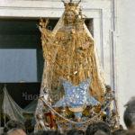 Guardia Sanframondi 1989 -  il simulacro della Madonna