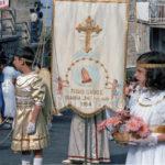 Guardia Sanframondi 1989 gonfalone del  rione Croce