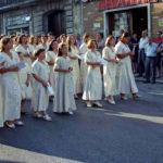 Guardia Sanframondi 1996 Coro del rione Portella