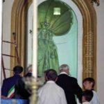 Guardia Sanframondi 1996 apertura della lastra