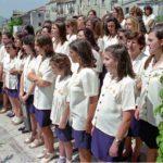 Guardia Sanframondi 1996 coro del rione Croce