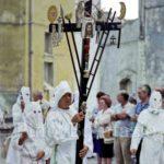 Guardia Sanframondi 1996 croce con gli strumenti della passione