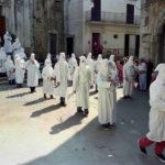 Guardia Sanframondi 1996 disciplinanti escono da San Rocco