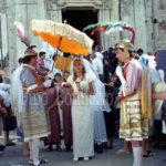 Guardia Sanframondi 1996 mistero del  rione Croce, l'eucaristia