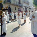 Guardia Sanframondi 1996 penitenti del rione Portella