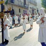 Guardia Sanframondi 1996 penitenti del rione Portella (2)