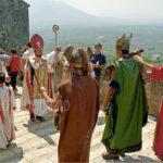 Guardia Sanframondi 2003- Leone I incontra Attila